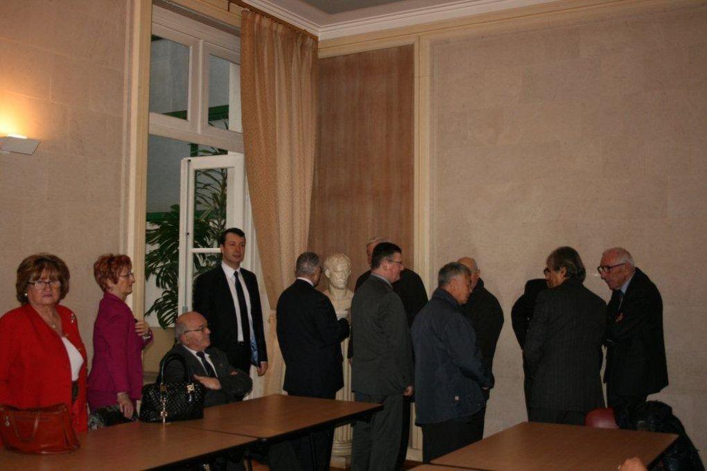 Voeux 2014 de l'UGF à ses partenaires, mairie du 5 ardt de Paris.