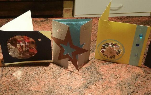 Cartes de Noël pour la famille...(2ème partie)