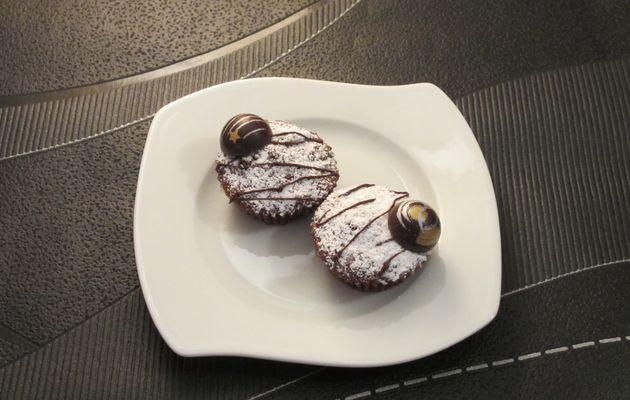 Petits gâteaux chocolat noisette