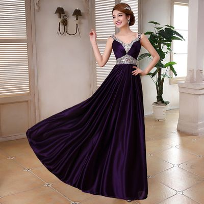 Looking At The Benefits Of A Purple Satin Dress