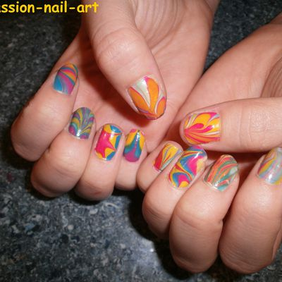 1er Water marble!