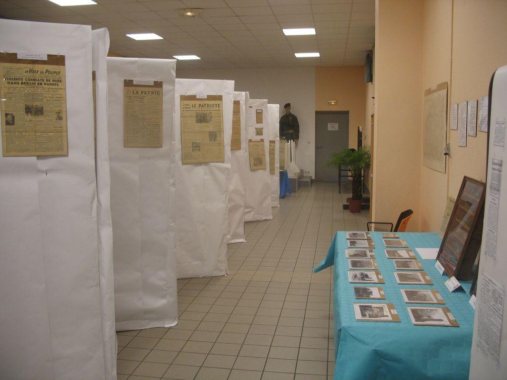 Exposition organisée à l'occasion du 65e Anniversaire de la Libération d'Yvetot les 4, 5 et 6 septembre 2009.