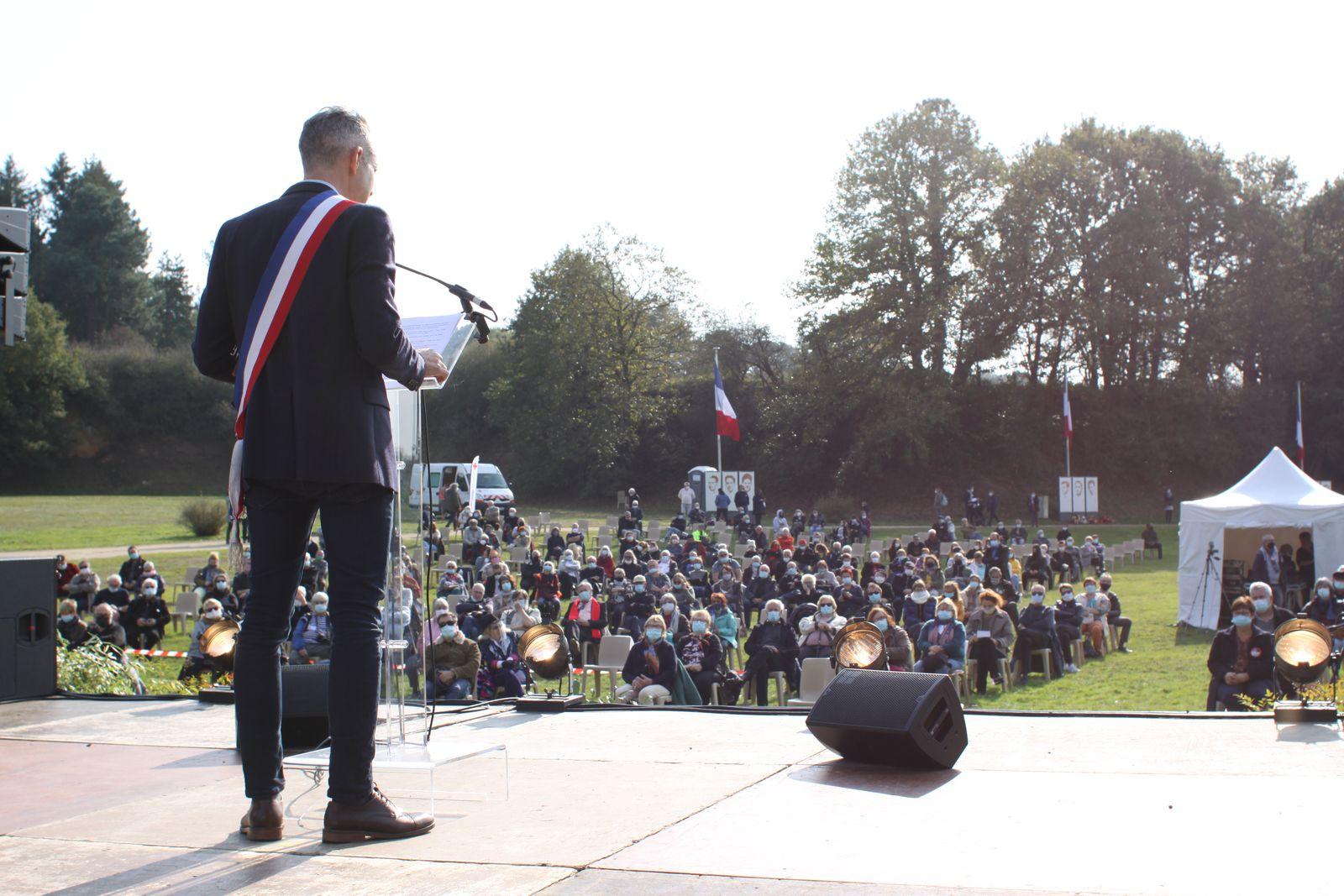 Châteaubriant - 22 octobre 1941/ 18 octobre 2020: le reportage photo de Jean-Luc Le Calvez pour l'hommage aux 27 fusillés, otages communistes et cégétistes livrés par Vichy à la répression nazie