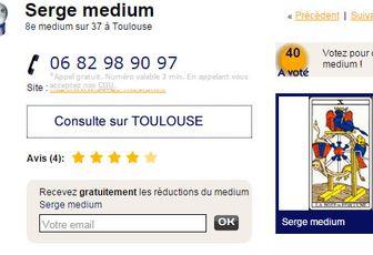 Quel médium sur Toulouse?