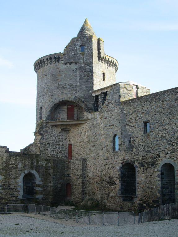 Visite du château de Vitré