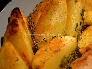Filet Mignon & Shiitakes Sauce Beurre aux Herbes Country Patatoes