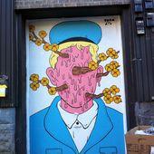 Les portes de garage - Montréal, les caribous et moi