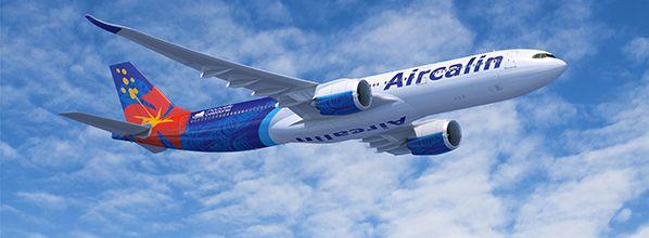 Le premier A330neo d'Aircalin fait son apparition