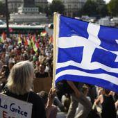 """Les soutiens du peuple grec réunis à Paris : """"Après eux, ce sera à notre tour"""""""