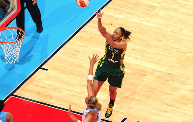 WNBA: La Légendaire Tina Thompson au All-Star Game