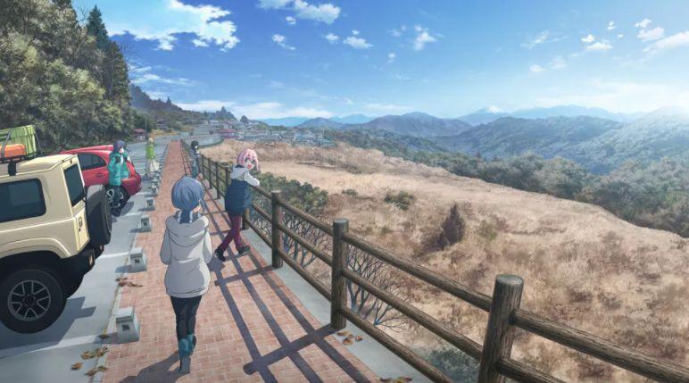 Le film Yuru Camp est prévu pour l'été 2022