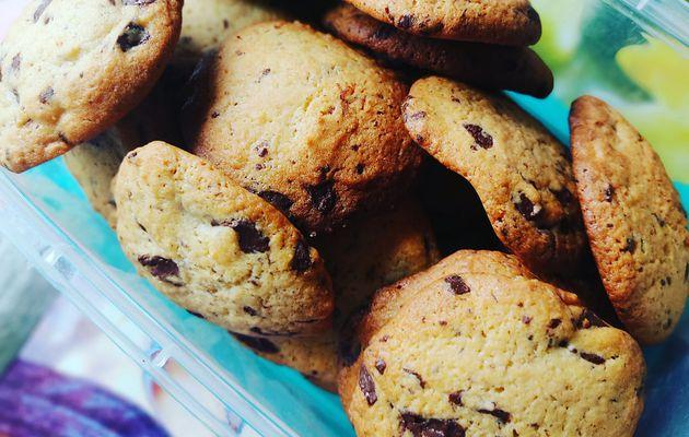 Recette cookies chocolat