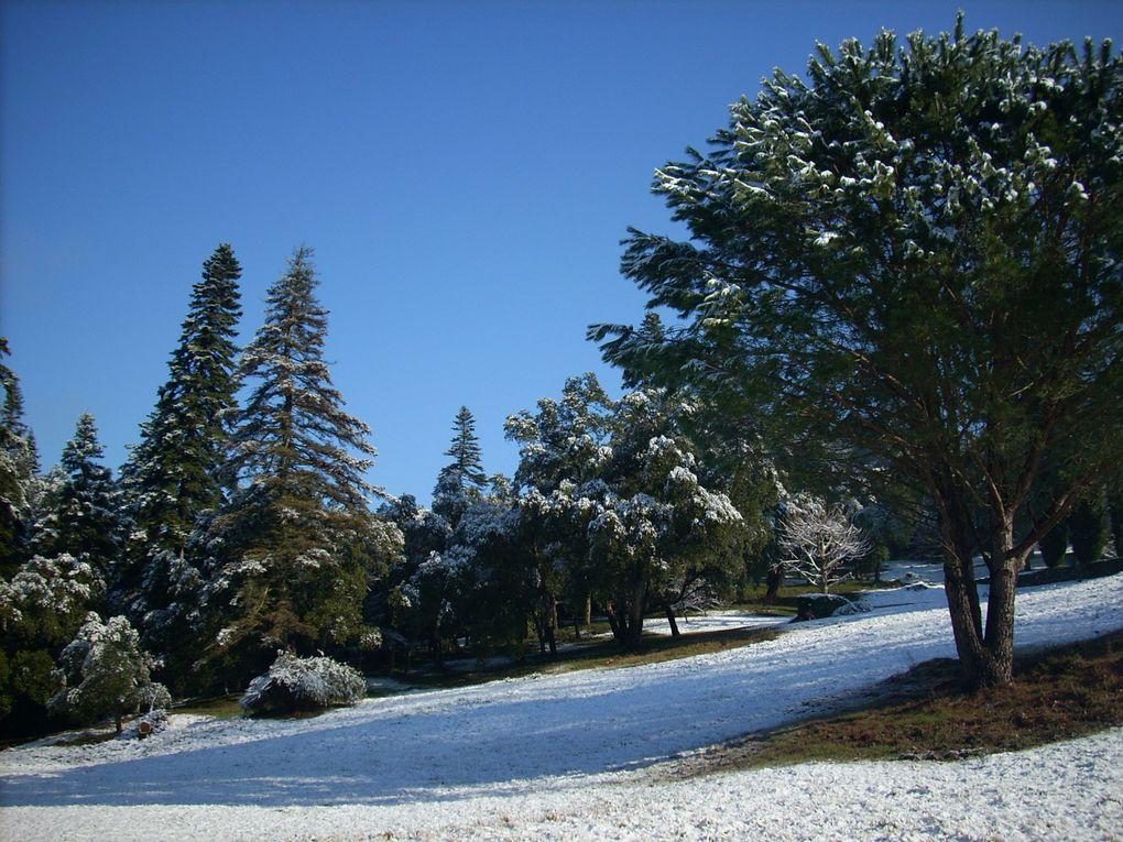 Quelques vues inhabituelles : la Vallée de La Mole sous la neige
