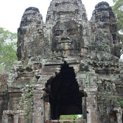 Les temples d' Angkor