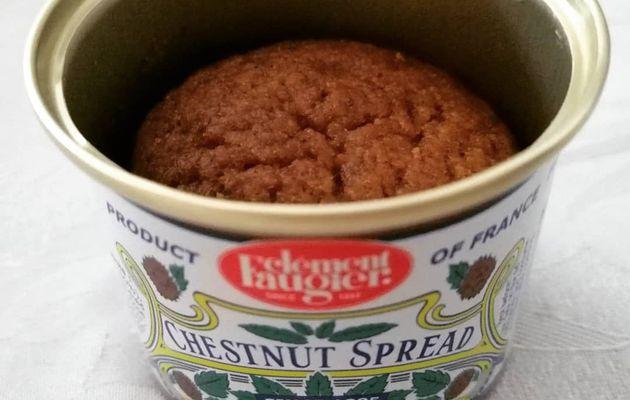 Muffins moelleux à la crème de marron