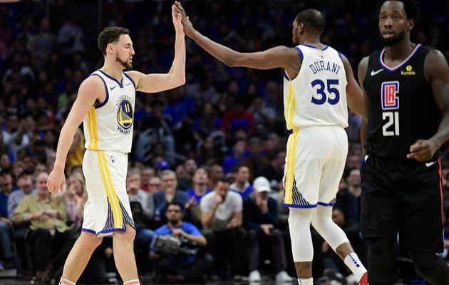 Klay Thompson et Kevin Durant écoeurent les Clippers (3-1)