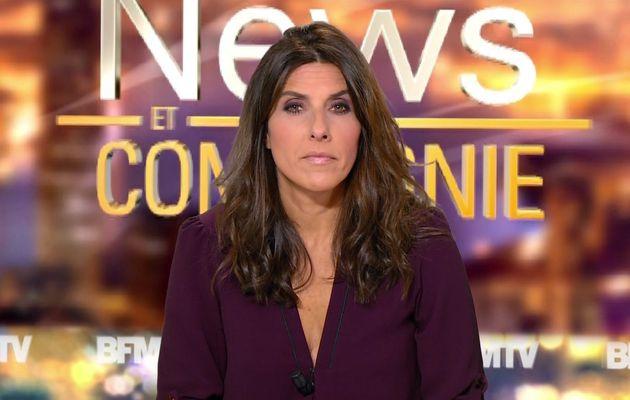 📸 NATHALIE LEVY @NathalieLevyNC @JohannaCarlosD8 ce soir pour #newsetco @bfmtv #vuesalatele