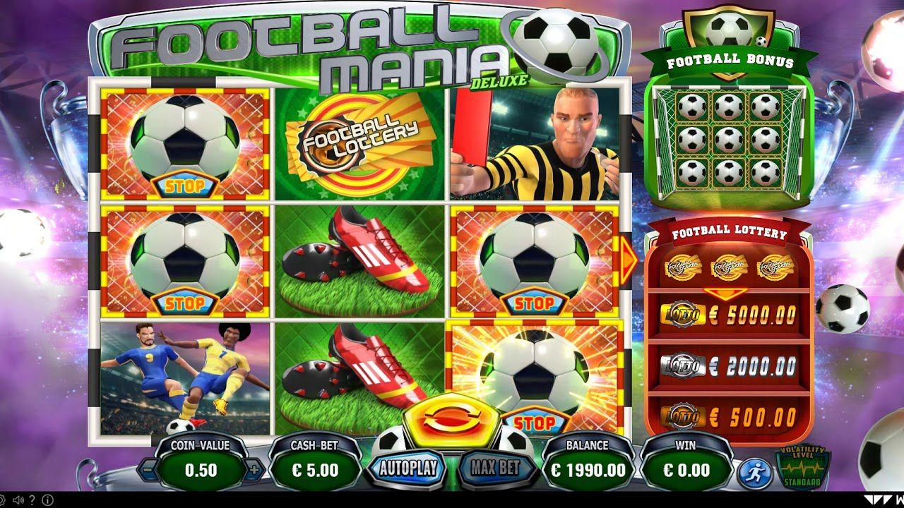 machine à sous en ligne Football Mania Deluxe jeu Football Bonus