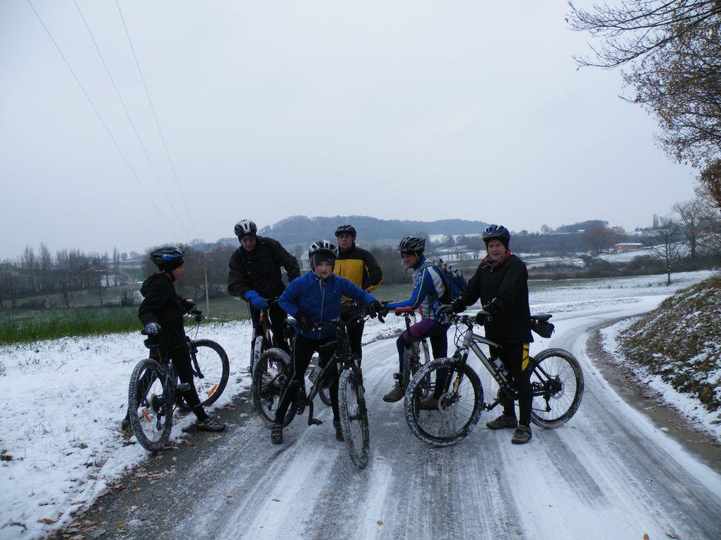 samedi 19 décembre 2009 sur les chemins enneigé