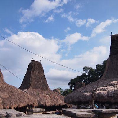Keunikan rumah dan kuburan di SUMBA