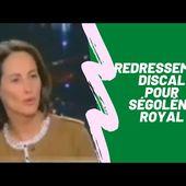 Ségolène ROYAL en plein redressement discal avec PPDA