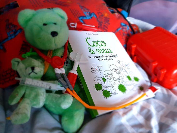 Coco le virus, le coronavirus expliqué aux enfants - Livre jeunesse
