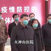 Chine : le président Xi Jinping à Wuhan, hôpitaux temporaires fermés : le début de la fin du coronavirus en Chine ? - Ça n'empêche pas Nicolas