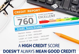 A High Credit Score Doesn't Always Mean Good Credit