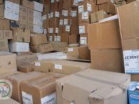 Nos deux containers partis de Nantes sont arrivés à ALEP