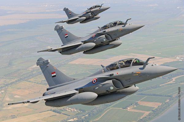 L'Egypte réceptionne officiellement ses trois premiers Rafale