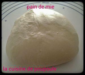 Pain de mie au kitchenaid