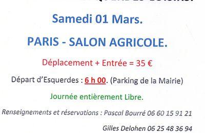 SALON de l'AGRICULTURE 2014.