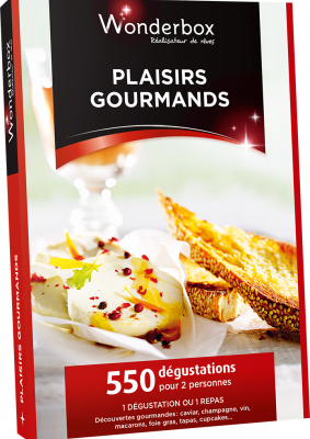 Wonderbox Plaisirs Gourmands NEUVE - 19 euros
