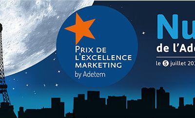 Les prix de l'excellence marketing de l'Adetem : le concours est ouvert