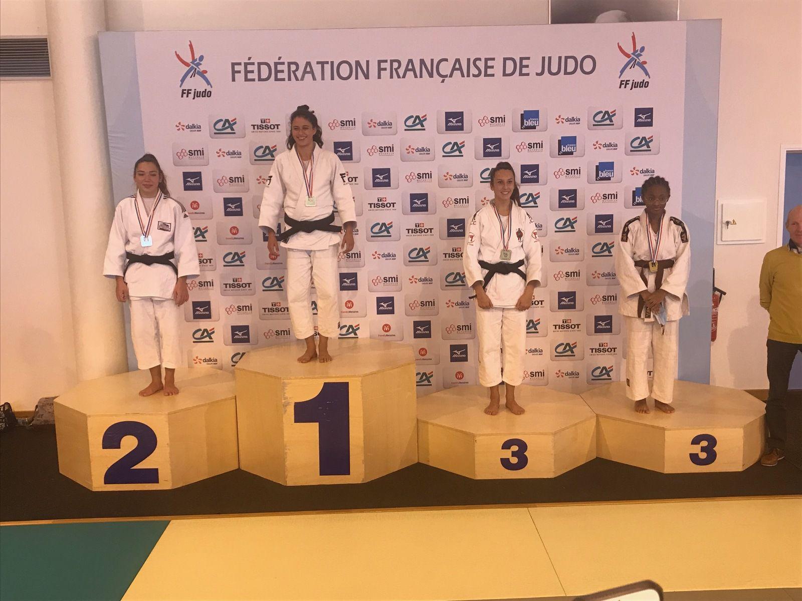 Anouck Le Foll vice-championne de France de Jujitsu Combat