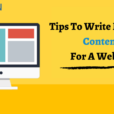 5 Tips to Write Effective Content for a Website