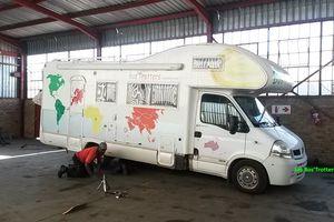 Afrique du Sud - 3 - Arrêt au stand à Joburg !