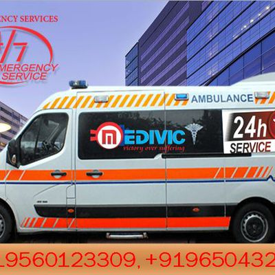 The Ambulance Service in Patna- Serves the Best Patient Transportation by Medivic Ambulance