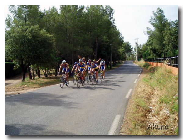 """<span style=""""font-weight: bold;"""">triathlon entrainement LCT 18 Juin 2006</span>"""