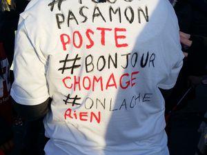 Grève chez Carrefour les Ulis La FGTA FO en action, Les salariés ne lachent rien !!