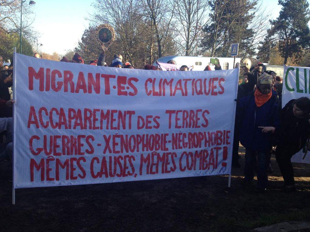 Manifestation Climat et solidarité avec les réfugiés