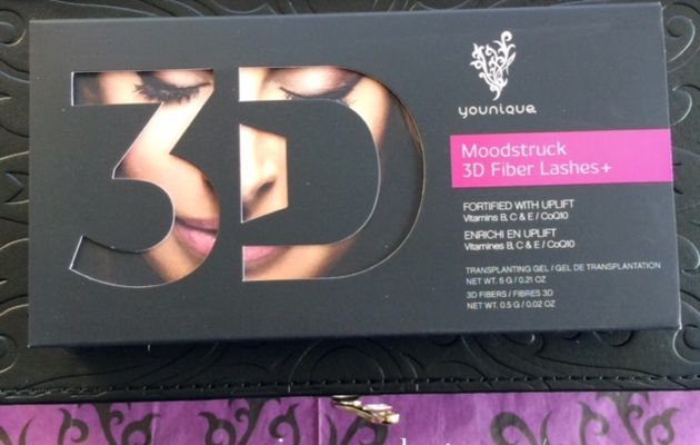 Mascara 3D fiber lashes plus by Claire Ducrot make-up