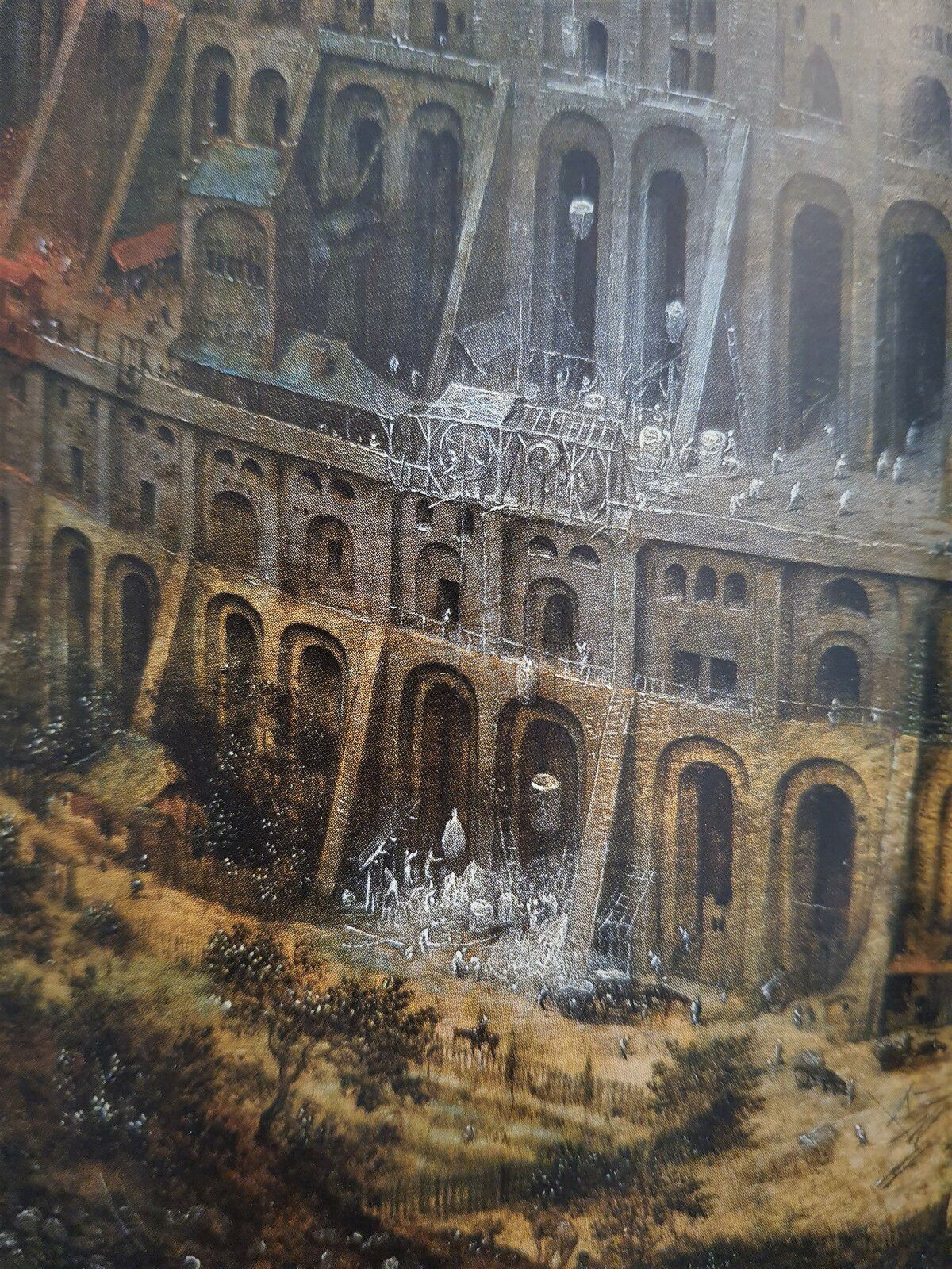 Bruegel par le détail -  Manfred Sellink - Editions Hazan - Tour de Babel