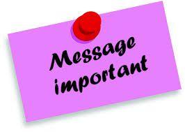 Message très important à mes frères et sœurs