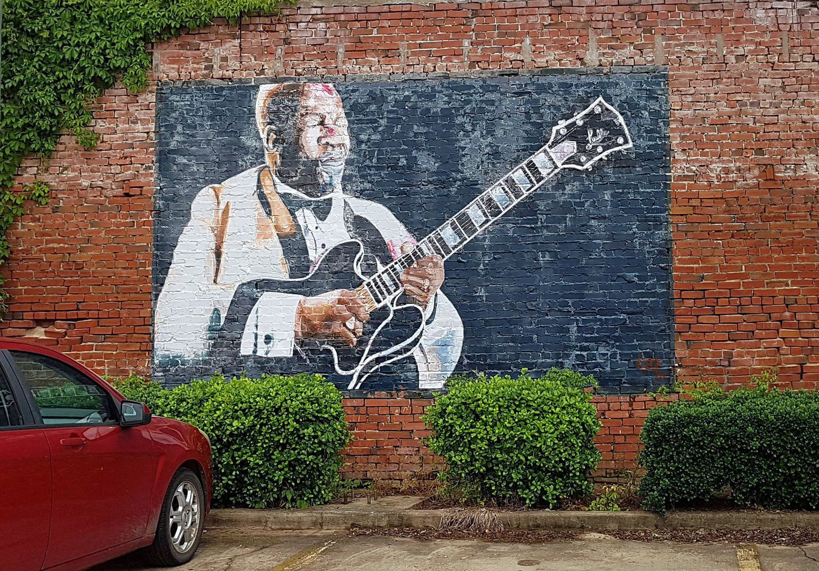 Indianola fresque B.B. King