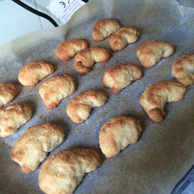 "Petits biscuits autrichien  "" Vanillen kipferln """