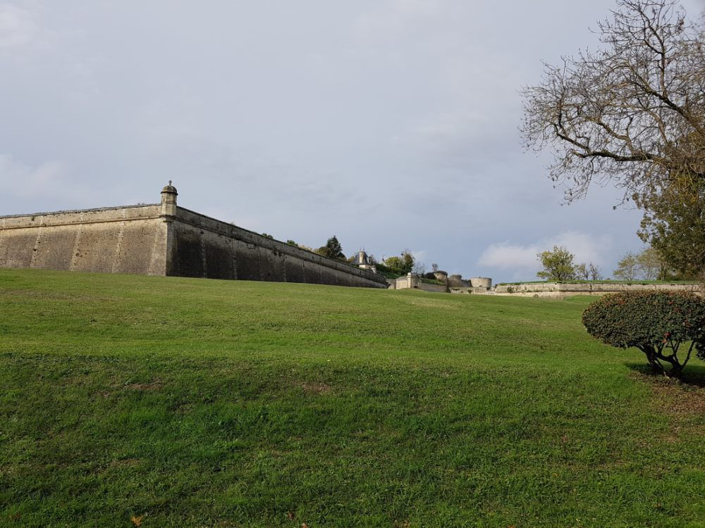 Blaye Village Girondin, placé en bord de Gironde