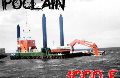 POCLAIN 1000, version F en vidéo