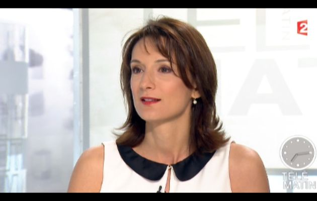 [2012 06 28] LAURENCE OSTOLOZA - FRANCE 2 - TELEMATIN @07H15