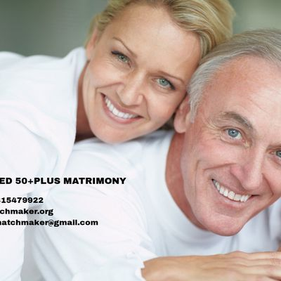 MAY I HELP YOU 50+PLUS MATRIMONIAL 0091-9815479922 WWMM